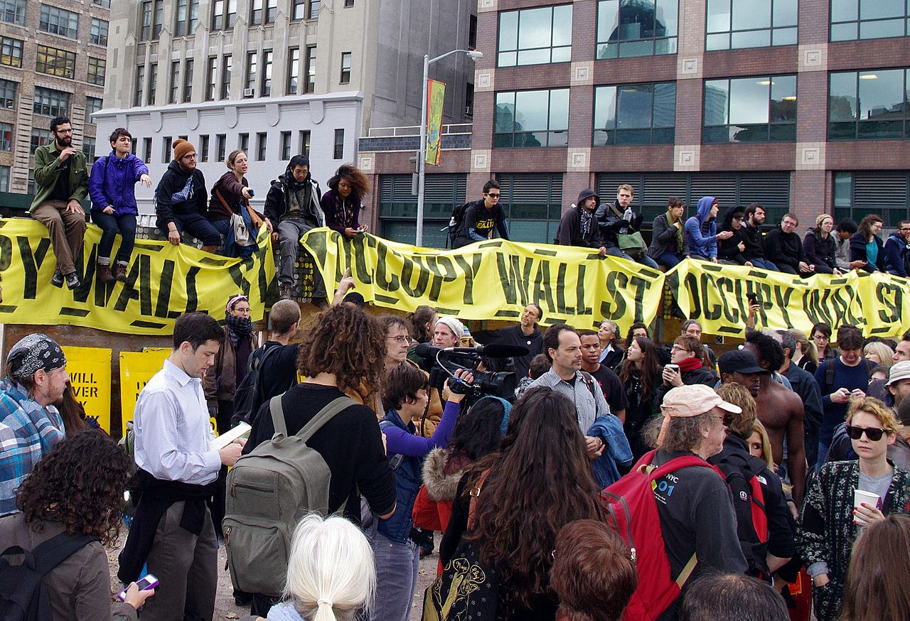 Occupy Wall Street - La crise